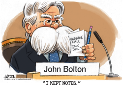 John Bolton Kept Copious Notes by RJ Matson