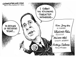 Rep Nunes defends Trump by Dave Granlund