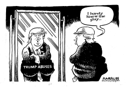Trump Abuses by Jimmy Margulies