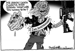 Another School Shooting by Bob Englehart