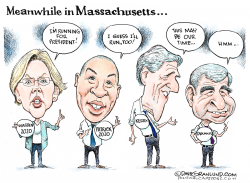 Deval Patrick joins 2020 Dems by Dave Granlund