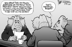 GOP strategy room by Bruce Plante
