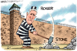 Roger Stone by Rick McKee