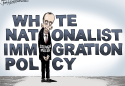 Stephen Miller by Joe Heller