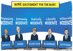 Moderate Democrats Take Center Stage at Debate by RJ Matson