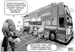 Sondland throws them all under the bus by Dave Whamond