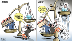 U.S. Mideast policy by Paresh Nath