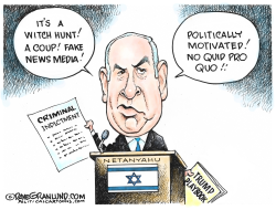 Netanyahu indicted by Dave Granlund