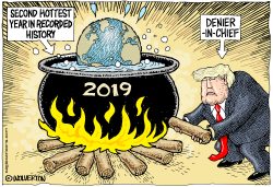 2019 Second Hottest Year Ever by Monte Wolverton