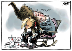 Mad Cat Trump by Jos Collignon