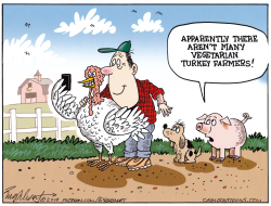 Thanksgiving by Bob Englehart
