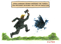 Thanksgiving Turkey by Peter Kuper