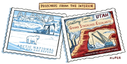 Postcards From the Interior by Peter Kuper