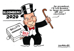 Bloomberg for President by Jimmy Margulies
