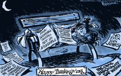 Happy Thanksgiving by Milt Priggee
