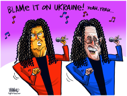 Blame it on Ukraine by Dave Whamond