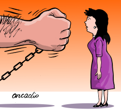 Stop femicide by Arcadio Esquivel