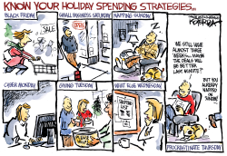 Know Your Holiday Spending Strategies by Jeff Koterba