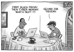 Black Friday Cyber Monday by Christopher Weyant