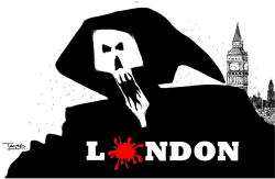 London Terror attacks by Tayo Fatunla