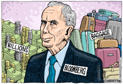 Bloomberg Billions and Baggage by Monte Wolverton