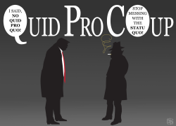Quid Pro Coup by Jose Neves