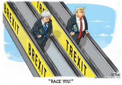 Brexit and Trexit by R.J. Matson