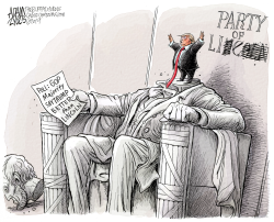 New Republican Party by Adam Zyglis