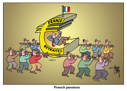 French pensions by Arend van Dam