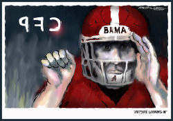 Bama Outside Looking In by J.D. Crowe