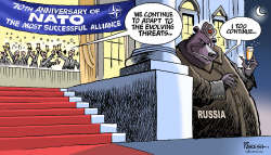 NATO 70th anniversary by Paresh Nath