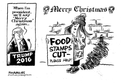 Food Stamp Cuts by Jimmy Margulies