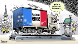 France nationwide strike by Paresh Nath