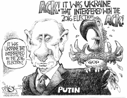 GOP Parroting Putin by John Darkow