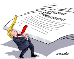 Too much evidence against Trump by Arcadio Esquivel