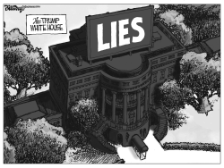 white house lies by Bill Day