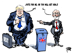 UK elections by Tom Janssen