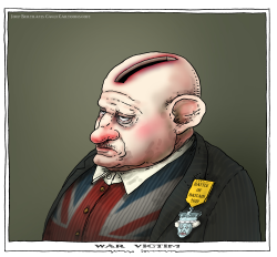 war victim by Joep Bertrams