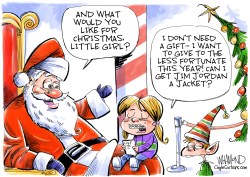 A Jim Jordan Christmas by Dave Whamond