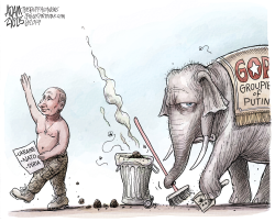 Groupie of Putin by Adam Zyglis
