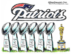 Patriots Spygate II by Dave Granlund
