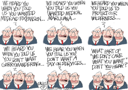LOCAL Hard of Hearing by Pat Bagley