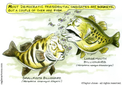 Democratic fish by Taylor Jones