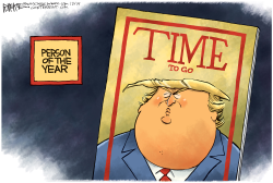TRUMP TIME COVER by Rick McKee
