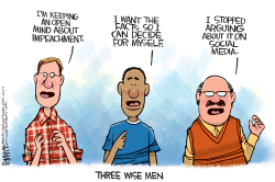 THREE WISE MEN by Rick McKee