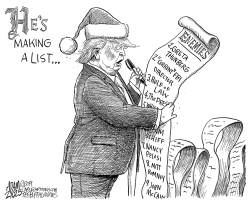 The List by Adam Zyglis