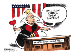 Senate Impeachment Trial by Jimmy Margulies