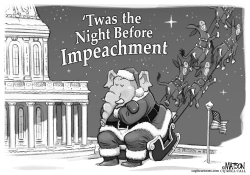 Twas the Night Before Impeachment by R.J. Matson