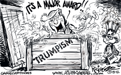 Major Award by Milt Priggee