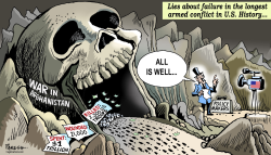 US lies on Afghanistan by Paresh Nath